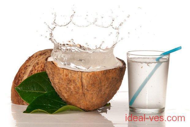 Кокосовая вода - полезные свойства