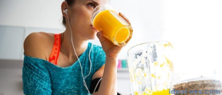 Питание до и после тренировки во время похудения
