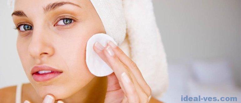 Правила ухода за нормальной кожей лица