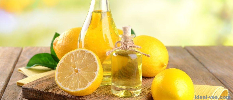 Лимонное масло: полезные свойства и применение