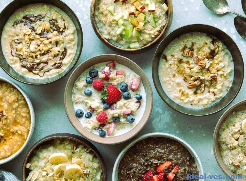 Овсяная диета с разными продуктами
