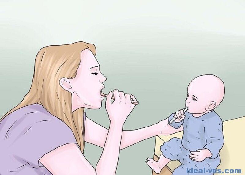 Как чистить зубы ребенку в 2 года
