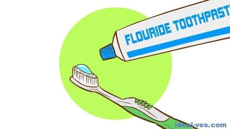 Сколько зубной пасты необходимо на чистку зубов