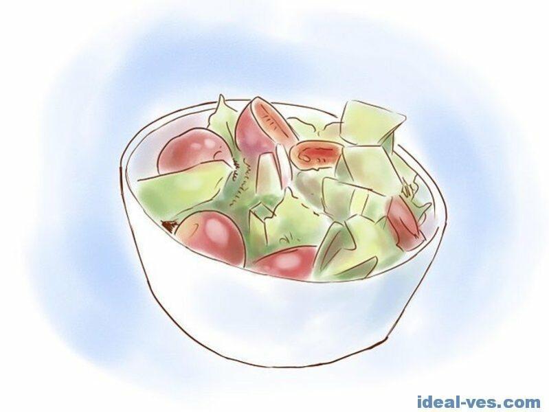 Здоровое питание поможет быстро похудеть