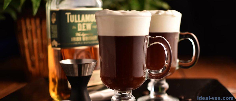Ирландский кофе: рецепт с сливками и виски