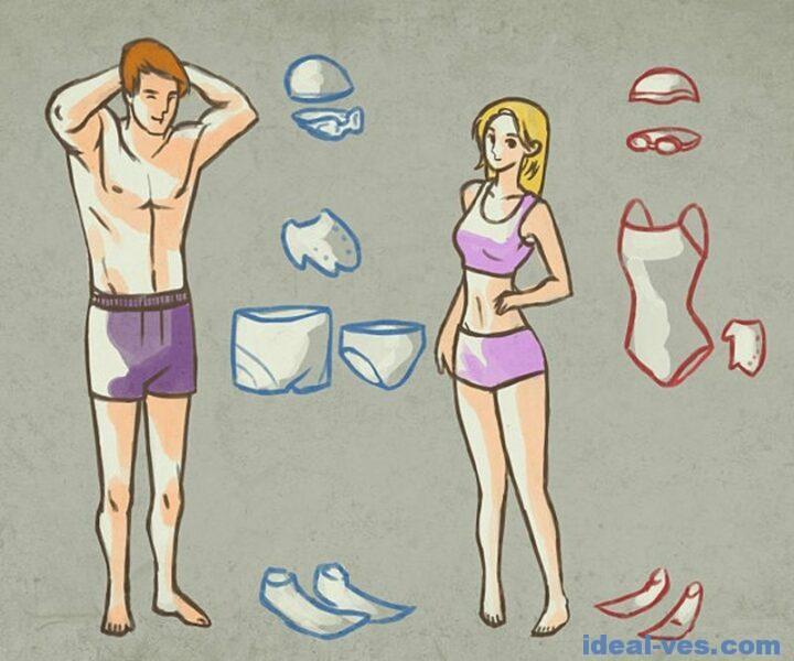 Что взять на плавание?