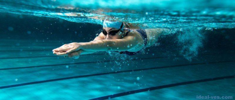 Как получить пользу от плавания в бассейне