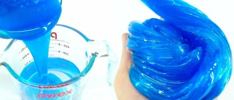 Как сделать слайм (лизуна) без клея и без тетрабората натрия: 13 рецептов
