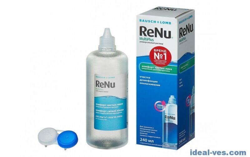 Раствор для контактных линз ReNu MultiPlus 240 мл
