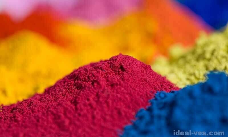 Цветные пигменты