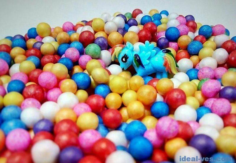 Магазинные шарики