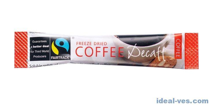 Columbian Fair Trade Decafe Coffee Sticks